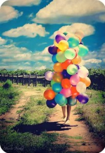 birthday balloons:)
